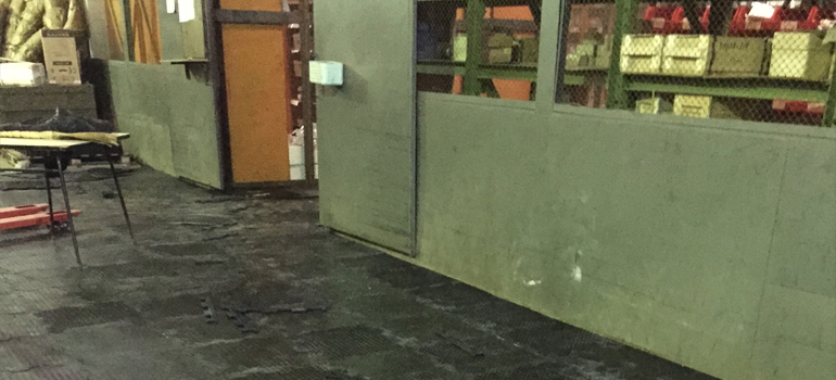 Промышленные напольные покрытия