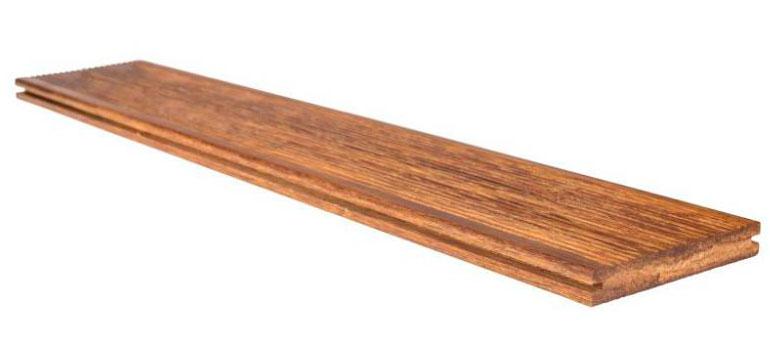 Террасная доска 120х18 из бамбука высокой плотности