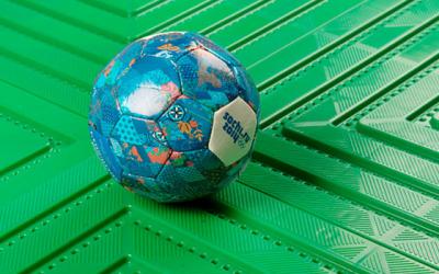 Защитные покрытия для футбольных полей Экопласт