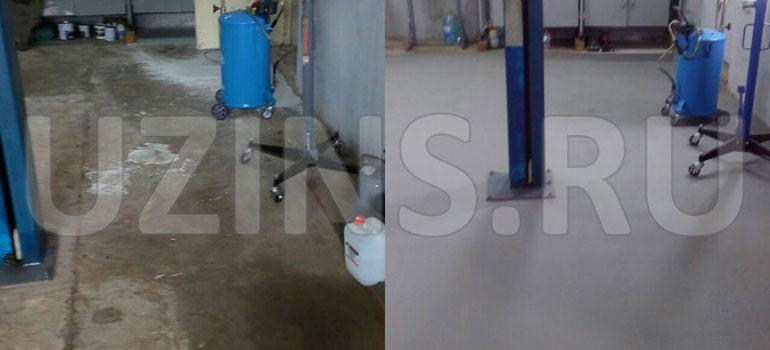 Напольное покрытие для производственного помещения