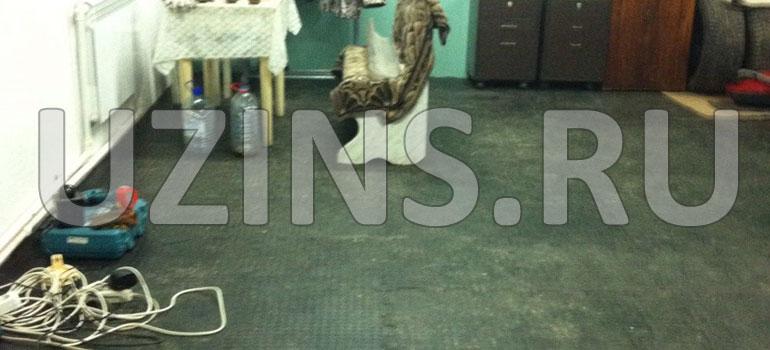 Напольное покрытие в домашней мастерской г. Усинск