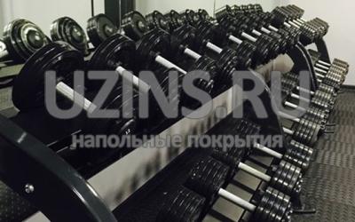 Напольное покрытие для фитнес клуба PAPA SMITH FITNESS