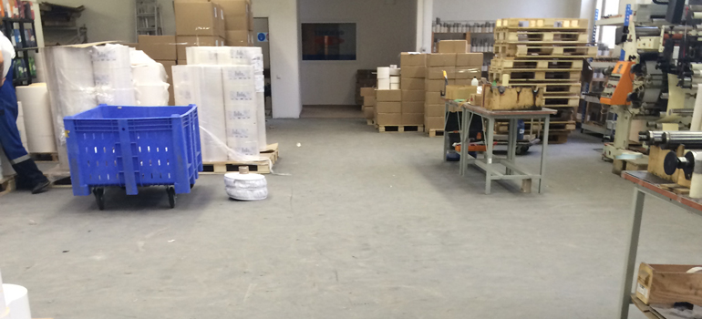 Напольные покрытия для складов