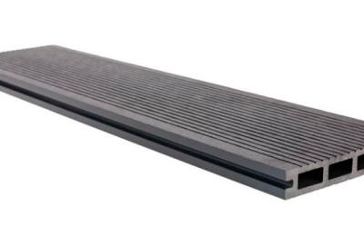 Террасная доска 146x23x3000 полированная (серый)