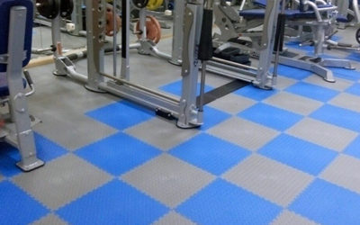 Напольные покрытия для фитнес центров и тренажерных залов