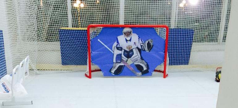 Покрытие для Школы хоккейного мастерства «Овертайм Мастер»