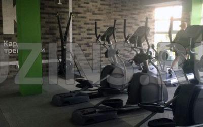 """Напольное покрытие для фитнес клуба """"SISTEMA"""""""