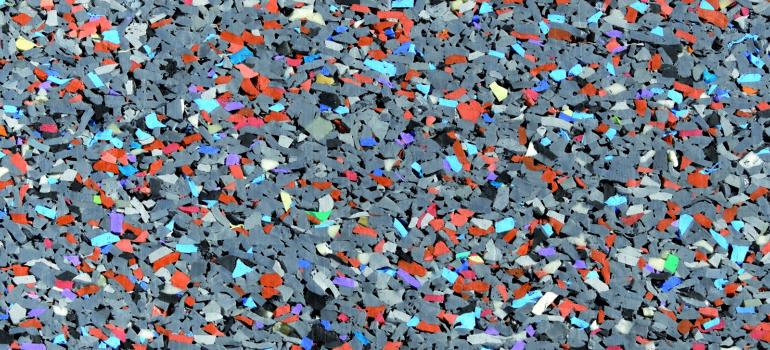 Противоскользящие покрытия из резиновой крошки