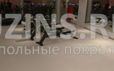 Напольное покрытие в Московском Доме Молодежи