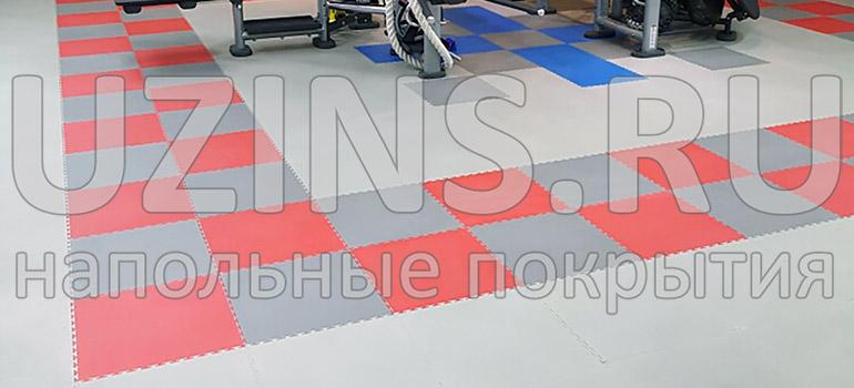 """Напольное ПВХ покрытие """"Кутис"""" в сети фитнес центров Wclass"""