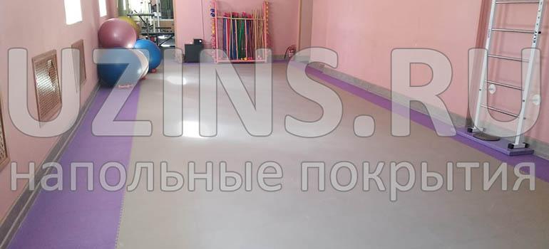 Напольное ПВХ покрытие в Спортивном комплексе, г. Калининград