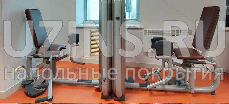 Напольные ПВХ покрытия для центра коррекции осанки и решению проблем с позвоночником