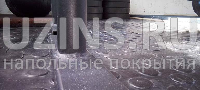 Напольное покрытие для студии персональных тренировок NATUM