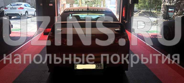 Напольное покрытие для частного гаража в г. Санкт-Петербург