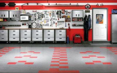 Модульные напольные покрытия для гаража