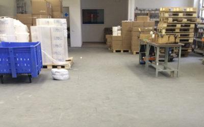 Напольное покрытие для складов