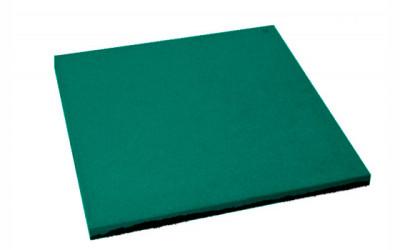 Резиновая плитка 500х500х20 мм
